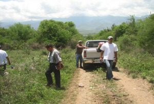 Verkregen land te Rio Aguan Valley voor Ctenosaura melanosterna reservaat