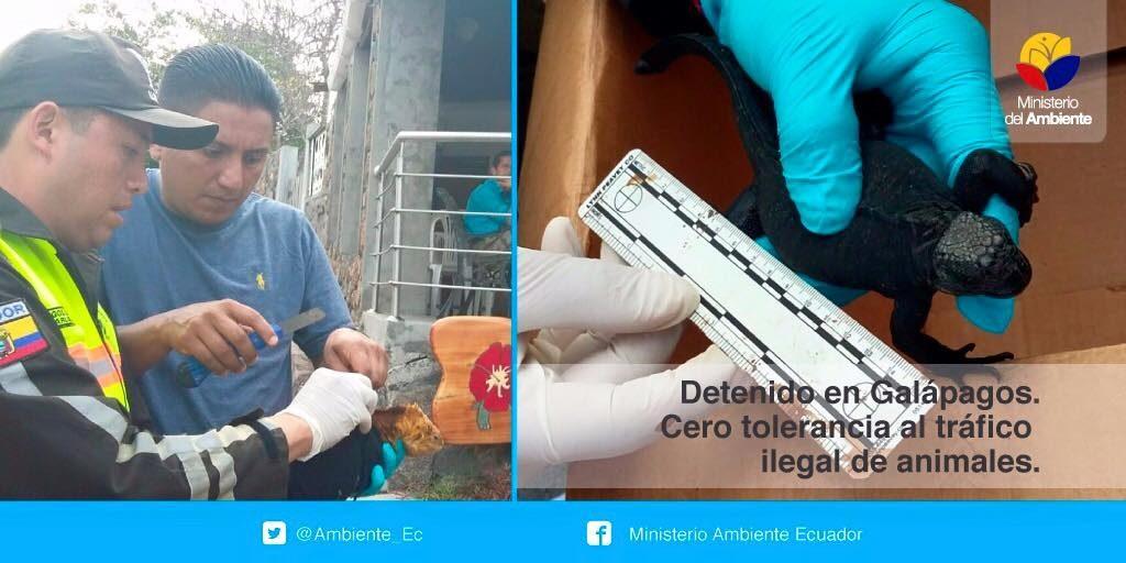 © Ministerio Ambiente Ecuador